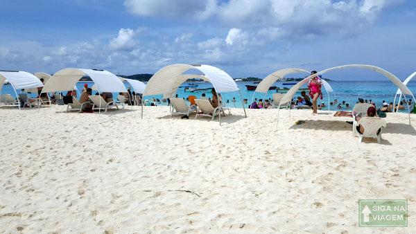 Siga na Viagem - O que fazer em Cartagena e San Andrés - Ilha Johnny Cay