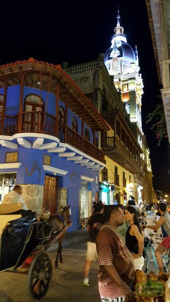 Siga na Viagem - O que fazer em Cartagena e San Andrés - Passeio Noturno de Charrete