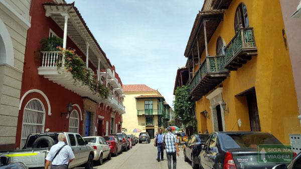 Siga na Viagem - O que fazer em Cartagena e San Andrés - Passeio na Cidade Amuralhada