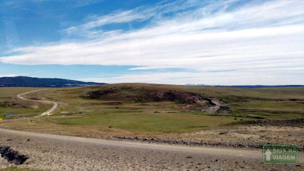 Siga na Viagem - Tour no Parque Nacional Torres Del Paine - Retorno a El Calafate.