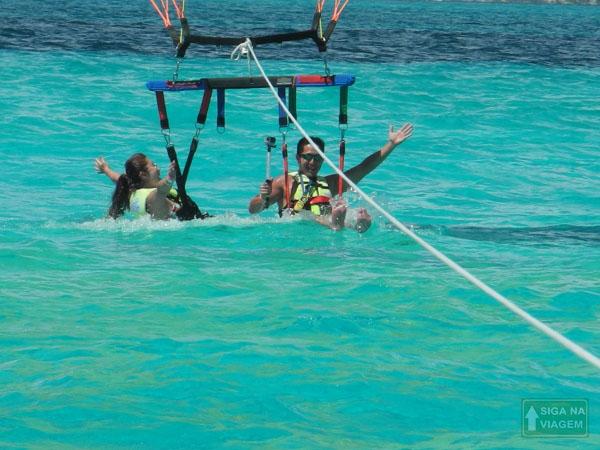 Siga na Viagem - Parasailing em Cancún um passeio surpreendente - Parasailing