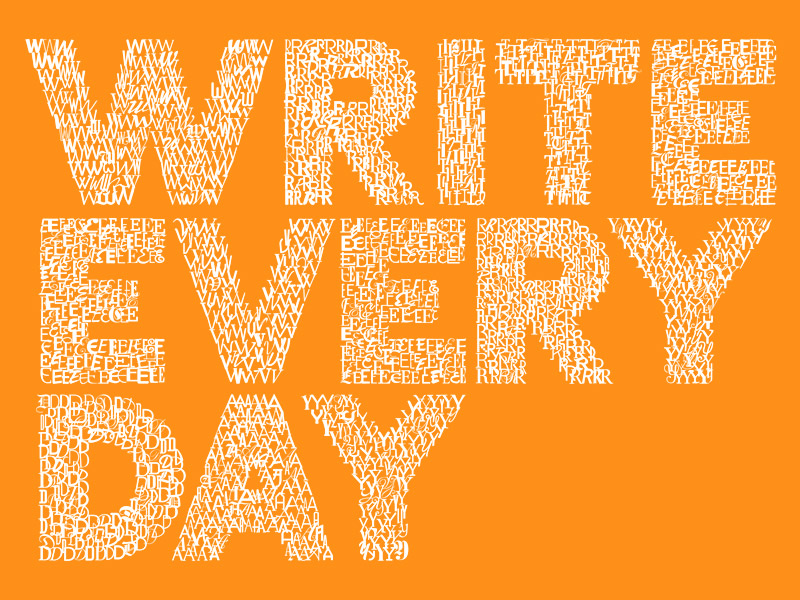Let's Write Something Every Day…