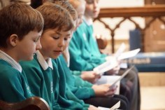 Sigglesthorne CofE Primary School Easter Service at St Lawrence Church