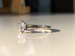 Verlobungsring Goldschmiede Workshop 2020 Diamantring Schmuck Siggnatur Goldschmied Duesseldorf