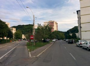 strada Plopilor din Sighișoara (Copy)
