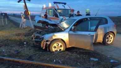 Photo of Mașină lovită de tren la Hoghilag.