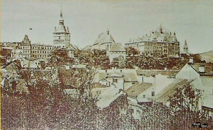 În 1924 așa arăta Sighișoara