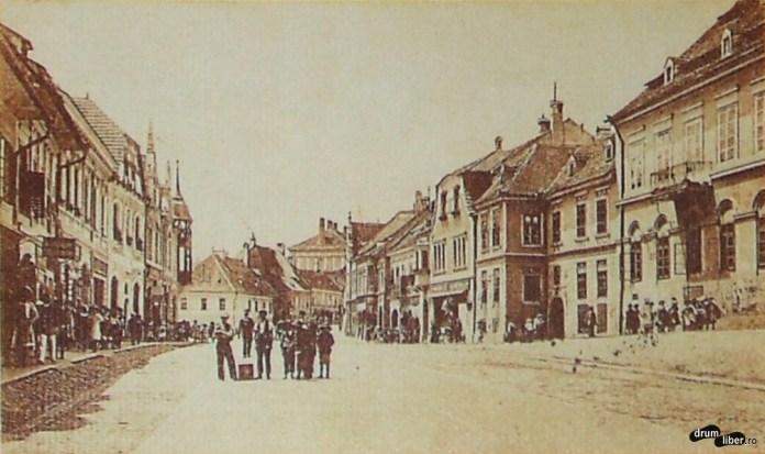 Orașul de Jos la 1917