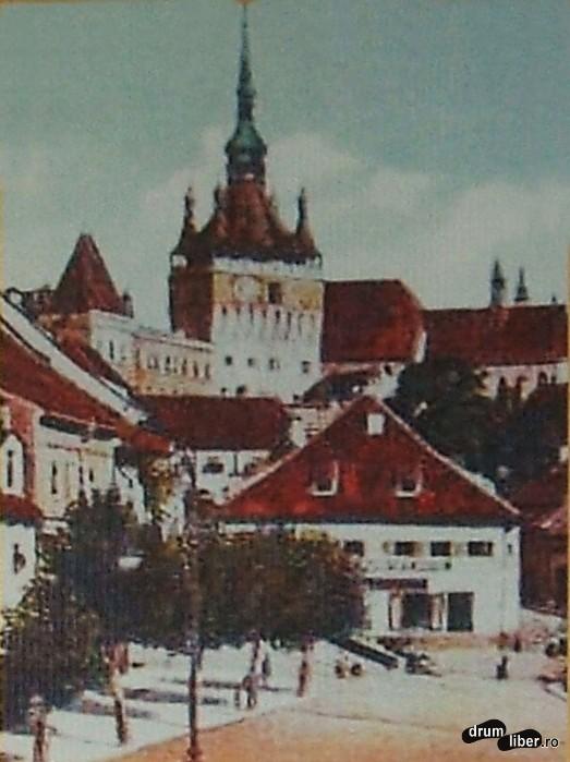Turnul cu ceas în 1913