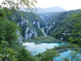 A quiet evening overlooking Plitvice Lakes