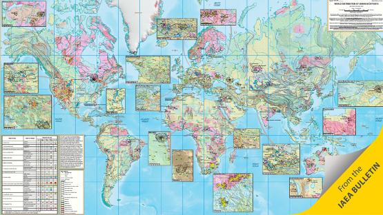 IAEA Unveils Unique World Uranium Map