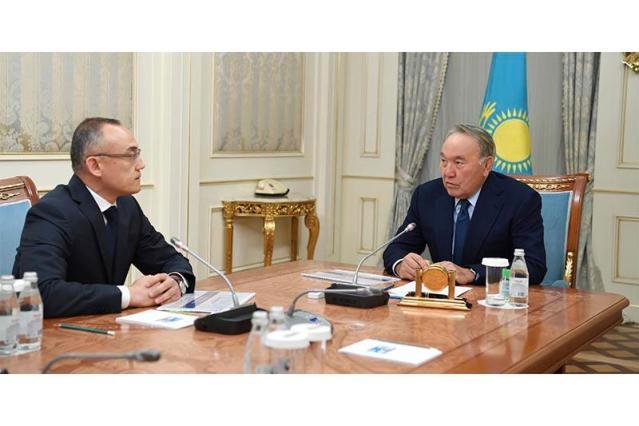 Kazakh President receives Kazatomprom CEO