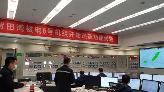 Hot testing of Tianwan 6 begins