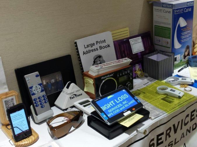A display of a variety of magnifiers.