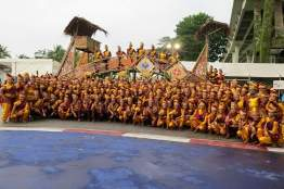 20 Feb 2016: The Mesra & Nadi Singapura Malay Contingent - 240+ of us with our float