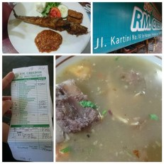 Catfish Penyet and the super delicious beef rib soup