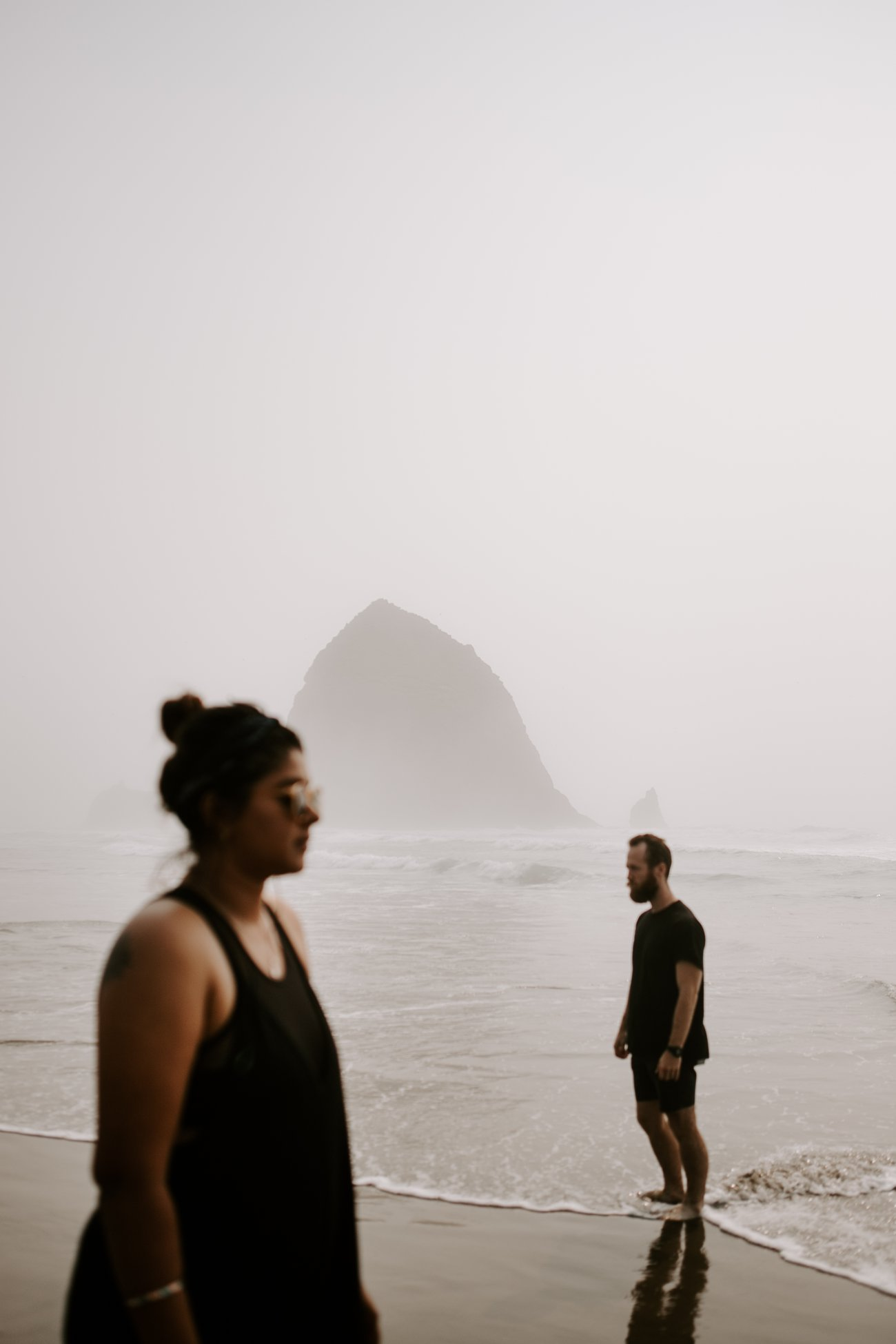 Cannon beach oregon moody creative photogaphy