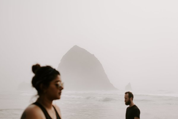 Cannon beach oregon moody creative photogaphy