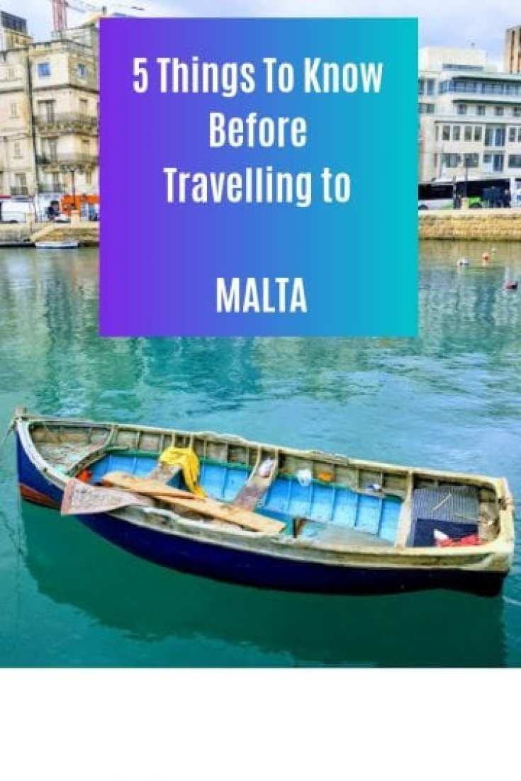 5 things to know before travelling to Malta
