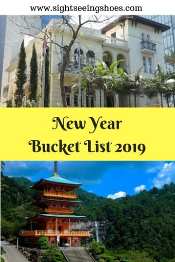 New YearBucket List 2019