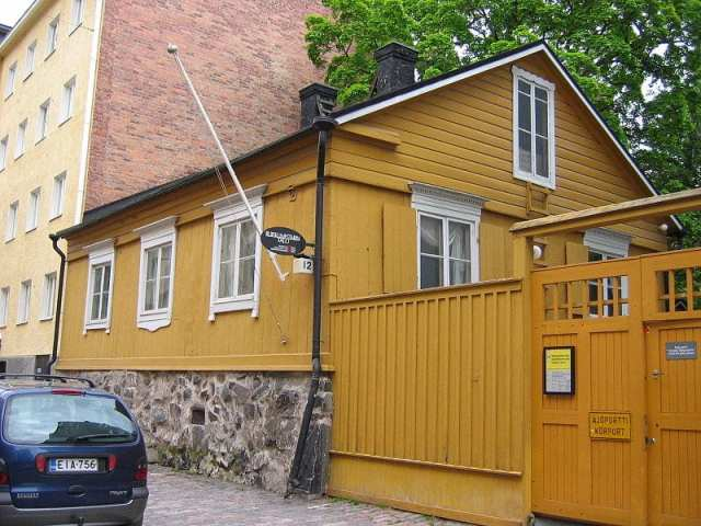 burgher's house
