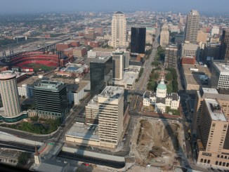 St. Louis from the Gateway Arch