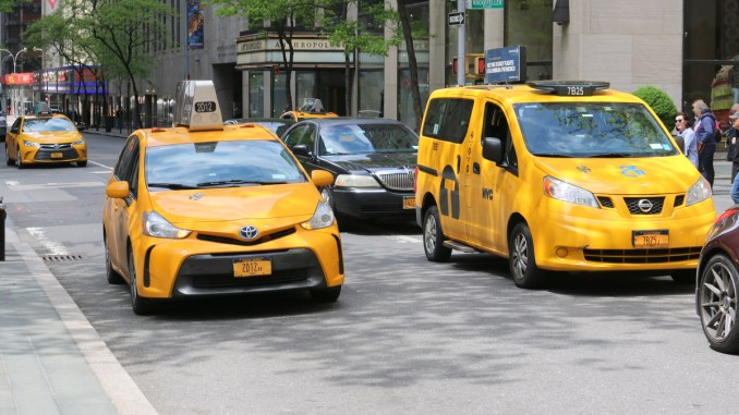 Cabs in New York City