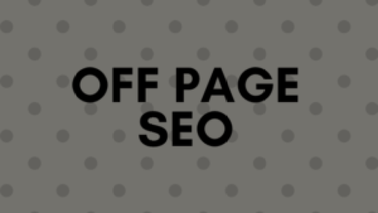 On Page SEO and Off Page SEO