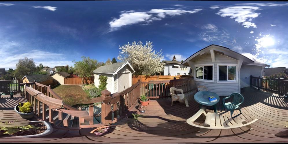 Springtime on the Porch