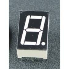 7 Segment Display CC-1 Digit