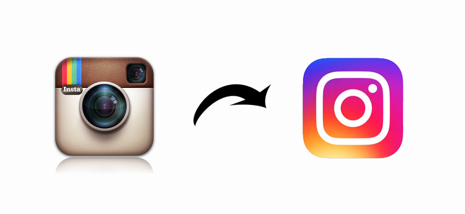 instagram old logo vs new logo