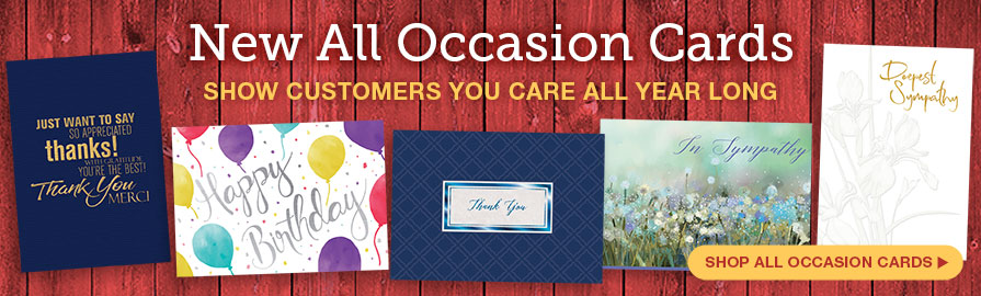 All Occassions Banner
