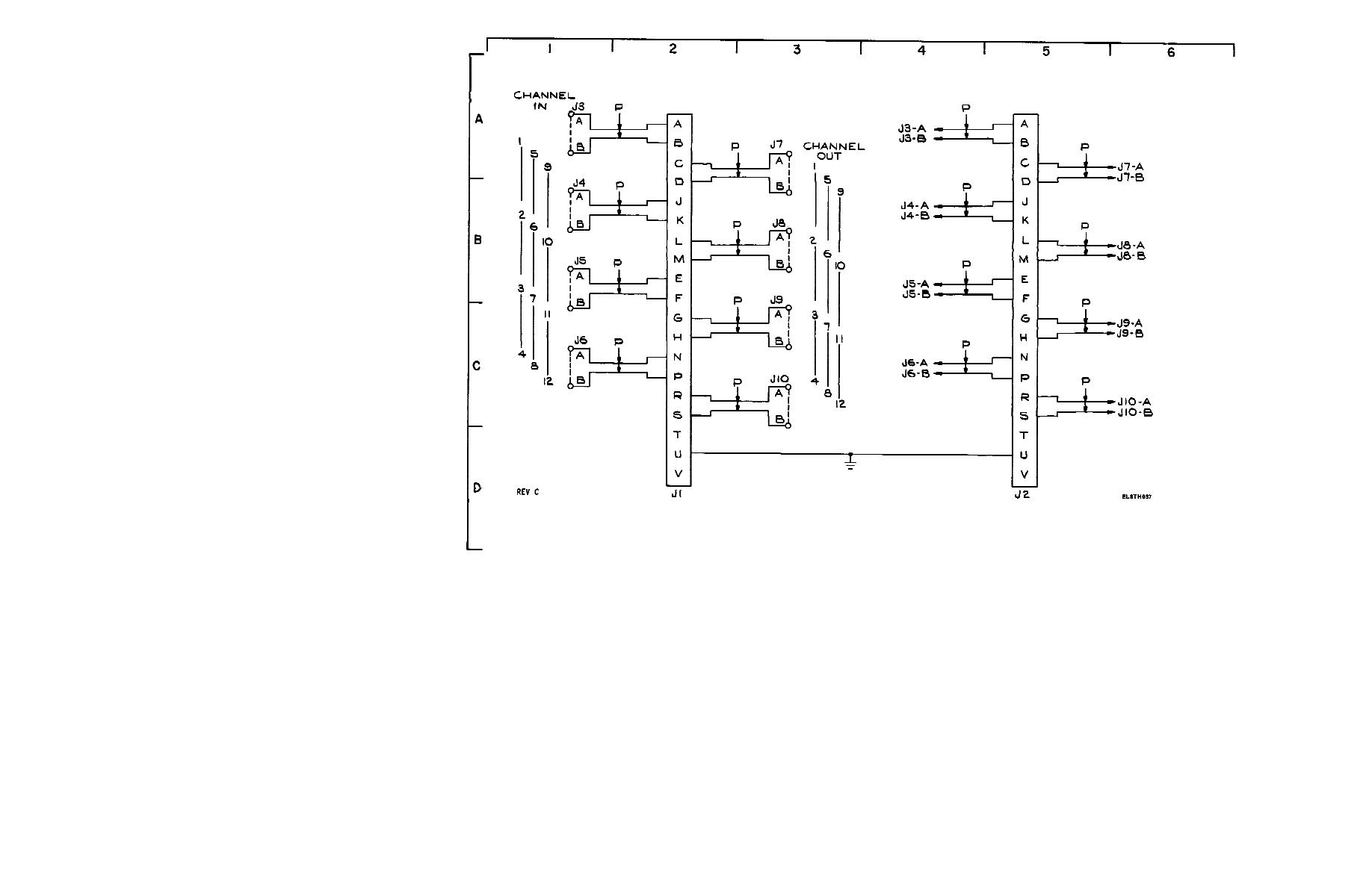 Figure Fo 10 Interface Box Assembly Schematic Diagram