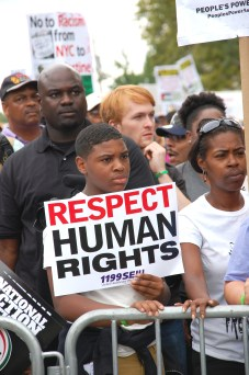 Protest over police brutality that killed Eric Garner (Photo: Wikimedia)