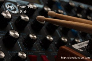 Moog Drum Two – Samples & Live 8 Drum Rack