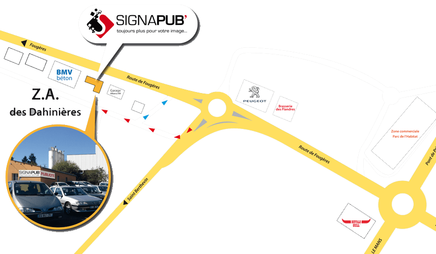 contact map signapub laval