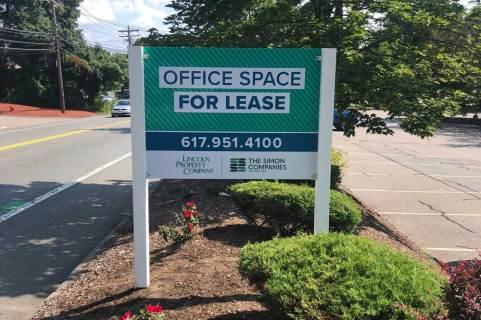 Lincoln Property Management Sign by Signarama Walpole