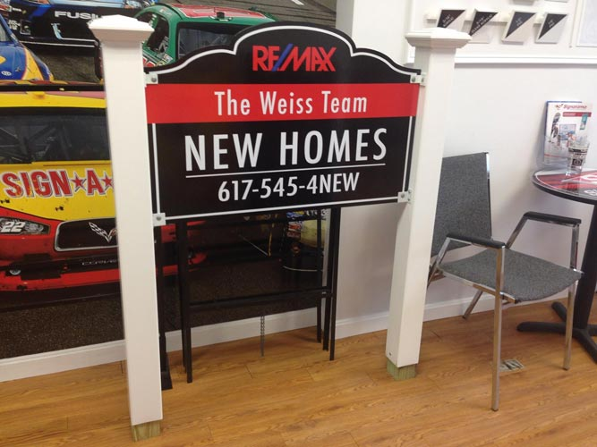 Real Estate Signs by Signarama Walpole MA
