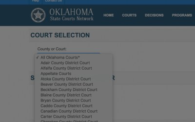 How to Search Tulsa Court Records