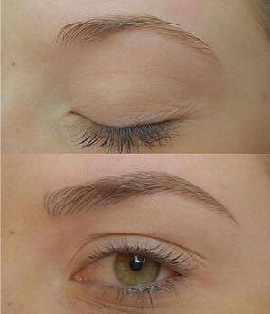 signature day spa Carmel eyebrow microblading