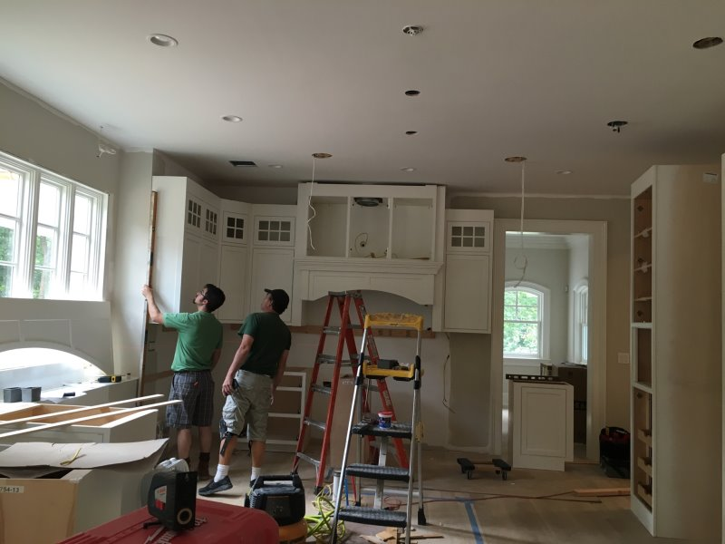 Every kitchen project has an owner on-site during installation to insure perfection