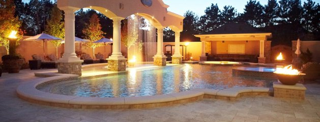 Cascade Luxury Custom Home and Backyard Resort