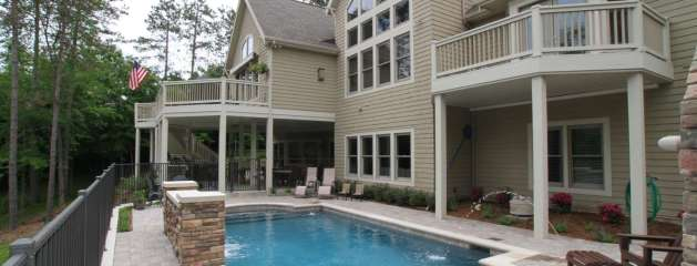 Grand Rapids Pool, Outdoor Fireplace, Outdoor Kitchen and Patio