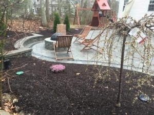 Jacuzzi, Firepit, Outdoor Lighting and patio - Construction by Signature Pool and Spas