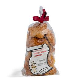 Biscuit Coeur amande cannelle par LORBER
