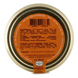 Photo de l'étiquette de la Cassolette de Champignons COLMAR BOX APéRO