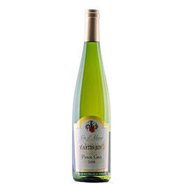 Photo de la bouteil de Pinot Gris du Domaine JunD