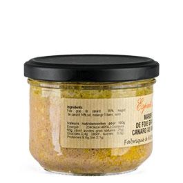 l'étiquette du Marbré de foie gras de canard et magret de canard de la COLMAR BOX SUMMUM