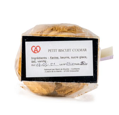 Etiquette Petit Biscuit Colmar Vanille par par Bisch de Bruche