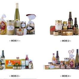 Abonnement 4 coffrets</br>100% Alsace